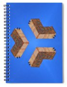 Sky Fortress Progression 2 Spiral Notebook