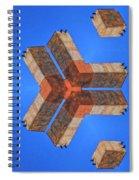 Sky Fortress Progression 4 Spiral Notebook