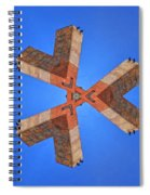 Sky Fortress Progression 5 Spiral Notebook