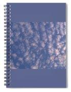 Sky Full Of Cloud Puffs Spiral Notebook