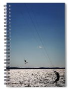 Sky Jockey Spiral Notebook