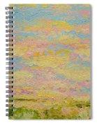 Sky Light Spiral Notebook