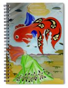 Sky Mermaid Spiral Notebook