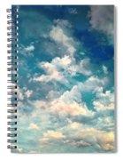 Sky Moods - Refreshing Spiral Notebook