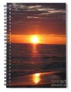 Sky On Fire I Spiral Notebook