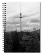 Sky Over Berlin Spiral Notebook