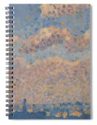 Sky Over The City Spiral Notebook