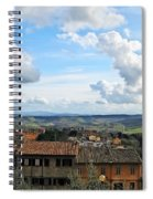 Sky Over Tuscany Spiral Notebook