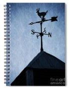 Skyfall Deer Weathervane  Spiral Notebook
