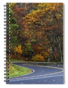 Skyline Drive Spiral Notebook