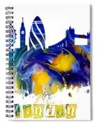 Skyline London England  Spiral Notebook