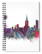 Skyline Warsaw Spiral Notebook