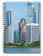Skylines At The Waterfront, Oriental Spiral Notebook