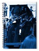 Skynyrd #5 Crop 1 In Blue Spiral Notebook