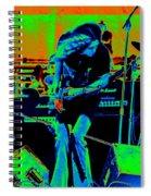 Skynyrd #6 Crop 2 In Cosmicolors Spiral Notebook