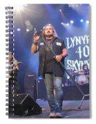 Skynyrd-group-7309 Spiral Notebook