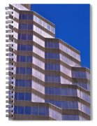 Skyscraper Photography - Downtown - By Sharon Cummings Spiral Notebook