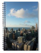 Skyscrapers In A City, Chicago, Cook Spiral Notebook