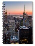 Skyscrapers Spiral Notebook