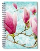 Skyward Magnolia Painterly 4 Spiral Notebook