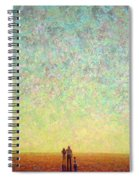Skywatching In A Painting Spiral Notebook
