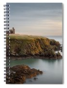 Slains Castle Sunrise Spiral Notebook
