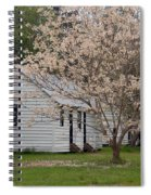 Slave Cabins At Magnolia Plantation - Summerville Sc Spiral Notebook