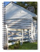 Slave Huts On Southern Farm Spiral Notebook