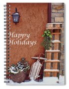 Sled And Tobbogan  Spiral Notebook