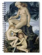 Sleep And Death The Children Of The Night Spiral Notebook