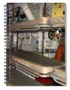 Sleeping Area Russian Submarine Spiral Notebook