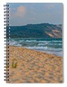Sleeping Bear Dunes At Sunset Spiral Notebook