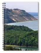 Sleeping Bear Dunes Overlook Spiral Notebook