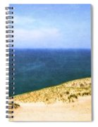 Sleeping Bear Dunes Panorama Spiral Notebook