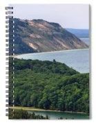 Sleeping Bear Dunes Vista Spiral Notebook