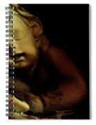 Sleeping Cherub #2 Spiral Notebook