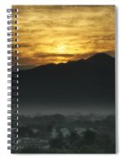 Sleeping City Spiral Notebook