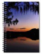 Sleeping Sun Spiral Notebook