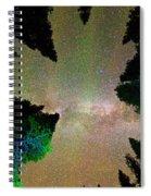 Sleeping Under The  Milky Way Stars Spiral Notebook