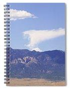 Sleeping Ute Panorama Spiral Notebook