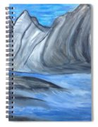 Sleepy Mountain Spiral Notebook