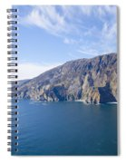 Sleive League On The West Coast Of Ireland Spiral Notebook
