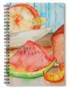 Slice It Spiral Notebook