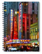 Slice Of Life Nyc-holiday Hustle Spiral Notebook