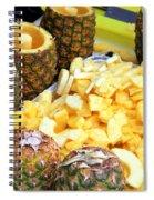 Sliced Pineapple Spiral Notebook