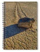 Sliding Rock Of Racetrack Playa Spiral Notebook