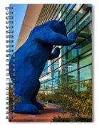 Slightly Blurry Denver Bear Spiral Notebook
