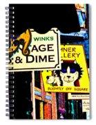 Slightly Off Square Spiral Notebook