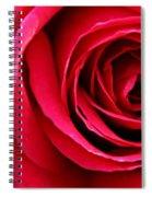 Slimline Red Spiral Notebook
