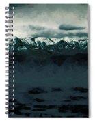 Slippery Surface Spiral Notebook